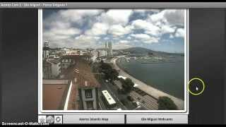 Azores Cam YouTube video