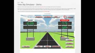 Time Slip Simulator YouTubeビデオ