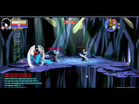 aqw - espada que muda de cor (BURNING FREEZE)
