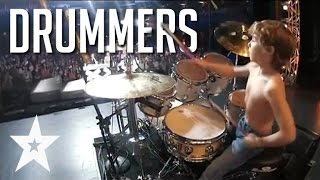 Video 7 Skilled Drummers From Around The World On Got Talent MP3, 3GP, MP4, WEBM, AVI, FLV Juni 2018