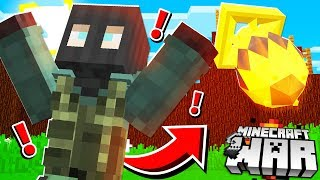 we dropped a *TOP SECRET* Minecraft BOMB on players!