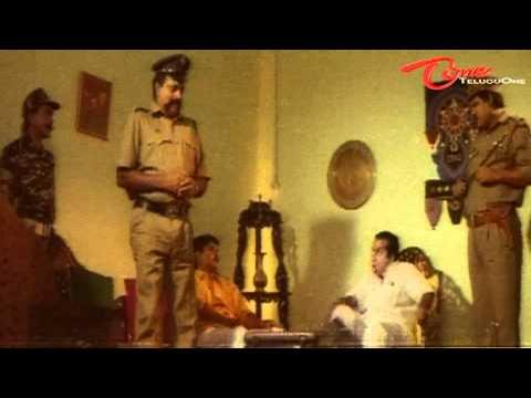 Funny Scene Between Brahmanandam  Chalapathi Rao