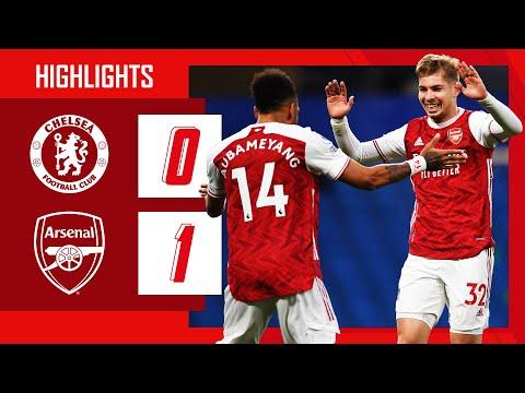 HIGHLIGHTS   Chelsea vs Arsenal (0-1)   Smith Rowe   Premier League