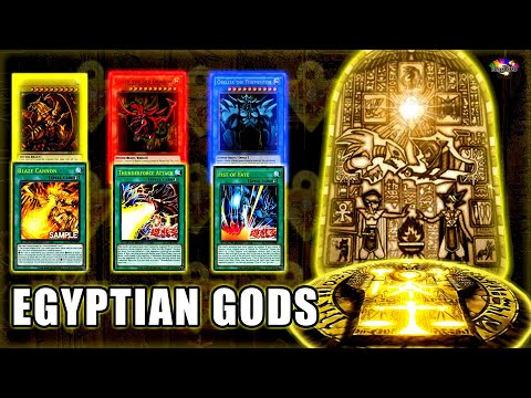 【YGOPRO】Egyptian God Deck Premium God Box Thunderforce Attack and Fist of Fate Yugioh