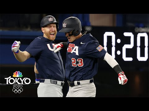 USA baseball wins big over Israel to kick off its quest for gold | Tokyo Olympics | NBC Sports