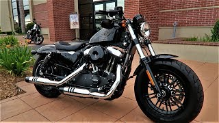 7. 2017 Harley-Davidson Forty-Eight (XL1200X)│Review & Test Ride