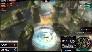 VVV vs Sync - Game 1 - MLG Guild Wars 2 Invitational