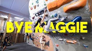 Triple Dyno - Big Crew Session - Maggie's Last Video ( Emil, Nikken , Peter And Daniel ) by Eric Karlsson Bouldering