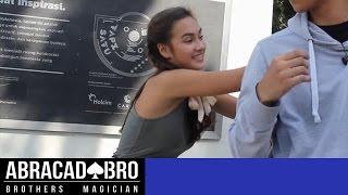 Berhasil Tebak Semua Pikiran Caitlin Halderman - abracadaBRO Magic Prank Indonesia