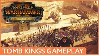 Video 44 minutes of NEW Tomb Kings gameplay | Total War: Warhammer 2 MP3, 3GP, MP4, WEBM, AVI, FLV Januari 2018