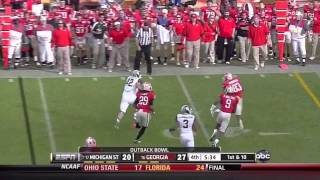 Alec Ogletree vs MSU and Kentucky (2011)