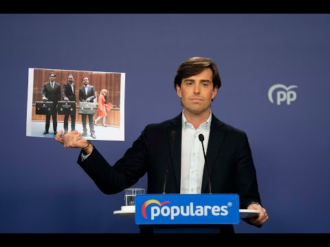 Rueda de prensa de Pablo Montesinos