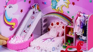 DIY Miniatures Dollhouse ~ Unicorn Room Decor , Shoes #41