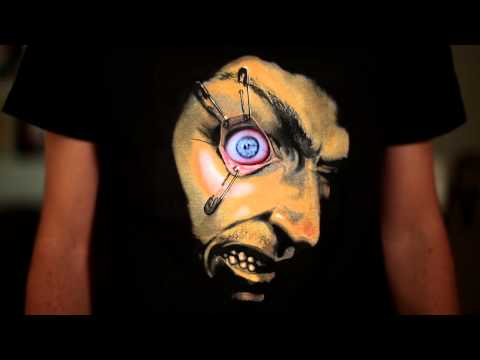 Frantically Moving Eyeball Shirt