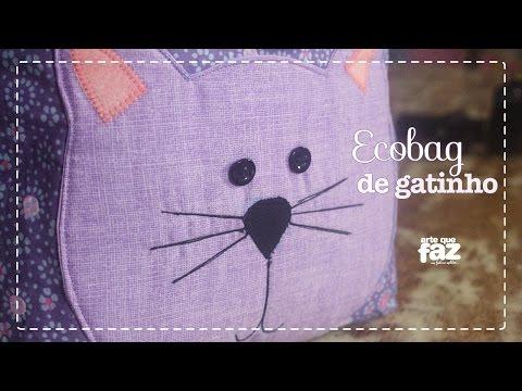 Ecobag de Gatinho