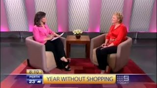 Video15: Tips on dealing with overshopping on Channel Nine's Today program