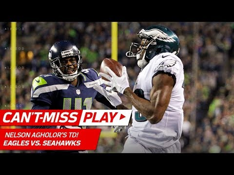 Video: Wentz's UNBELIEVABLE Pass to Agholor Sets Up Their TD Connection! | Can't-Miss Play | NFL Wk 13