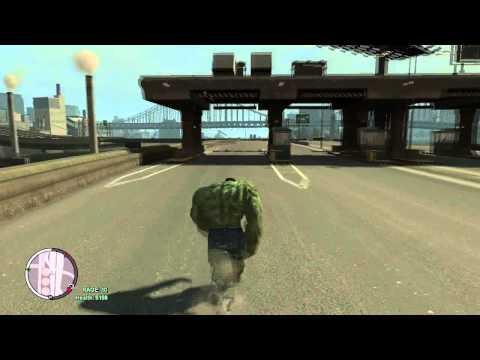 Tsunami vs The Hulk GTA IV