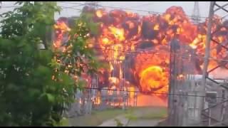 Мощный взрыв оставил без света четвертую часть Томска