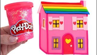 Video Learn Colors Play Doh Making Colorful Baby Doll's House Surprise Toys Disney MP3, 3GP, MP4, WEBM, AVI, FLV November 2017