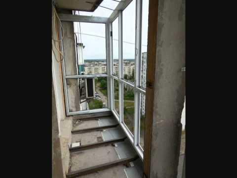 Остекление балконов и   Slidors