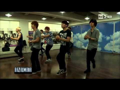 "[ENG SUB 140905] Rai 2 ""Razza Umana Magazine"" – Super Junior (슈퍼주니어)"