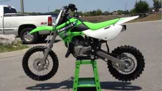 7. 2013 Kawasaki KX65 in Lime Green   2013 Kawasaki Monster Energy KX 65 at Tommy's Motorsports