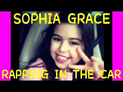 rapping - Sophia Grace performs some of the rap from her latest song