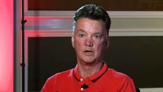Manchester United - Louis Van Gaal Interview - Sir Alex Ferguson, Formations, PL&United's History