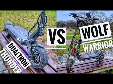 WOLF WARRIOR 11+ VS DUALTRON THUNDER - Performance/Feature Comparison! (both slow after Rion...)