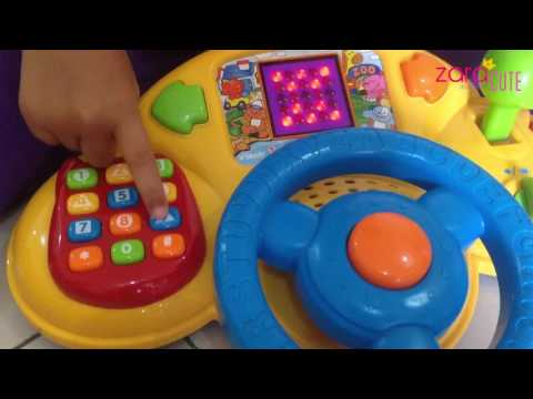 Zara review Mainan Mobil Odong Odong vtech 3in1 smart wheels | Lets Play