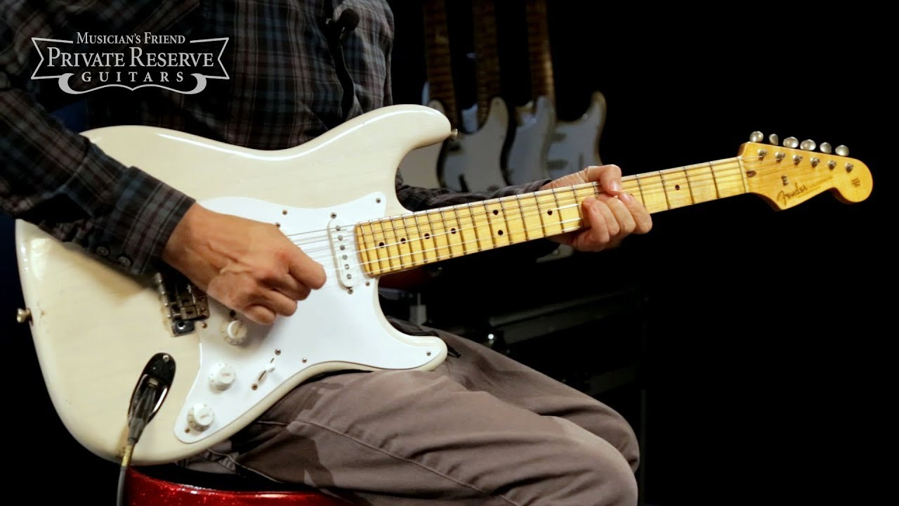 Fender Custom J'man Relic Eric Clapton Sig. Stratocaster Electric Guitar, Masterbuilt by Todd Krause