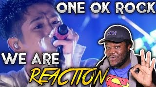 Video ONE OK ROCK - WE ARE : REACTION!! MP3, 3GP, MP4, WEBM, AVI, FLV Maret 2019