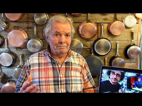 Jacques Pepin Reacts To My Omelet !