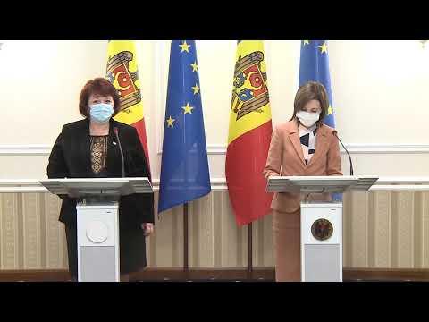 Президент Республики Молдова Майя Санду подписала Соглашение о построении и развитии сотрудничества с Конгрессом местных властей Молдовы