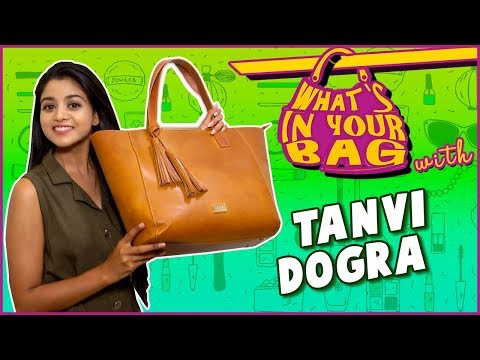 Tanvi Dogra aka Falguni's Handbag Secret Revealed