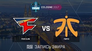 FaZe Clan vs Fnatic - ESL One Cologne 2017 - de_ovrepass [ceh9, Enkanis]