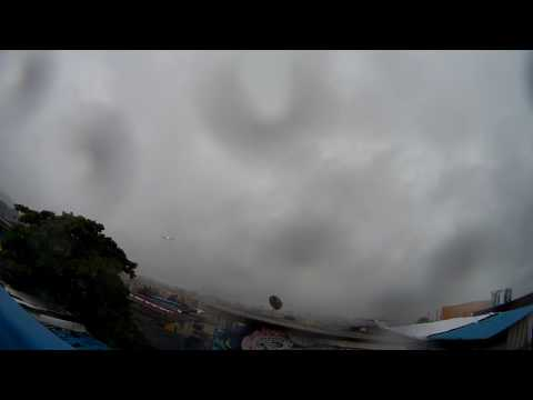 Cyclonic View Heavy Rain Timelapse