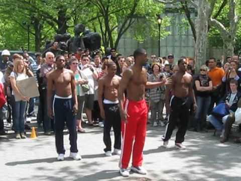 0 The Positive Brothers, danseurs de rue à New York