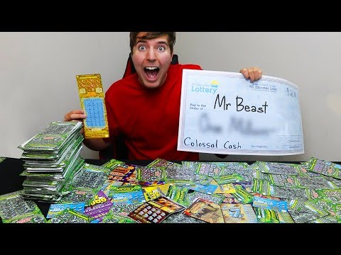 I Spent $30,000 On Lottery Tickets And Won ____