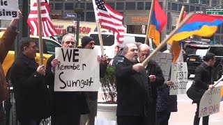 Armenians Demand Justice for Victims of Sumgait Pogroms