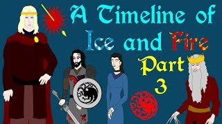 """A Timeline exploring the history of the Known World. Part Three, explores from the reign of Aegon III to the fall of House Targaryen. Based on the series A Song of Ice and Fire by George R R Martin.Support Civilization Ex with a Monthly Pledge of your choice at:https://www.patreon.com/civilizationexFollow us https://twitter.com/civilizationexVisit our Site: http://www.civilizationex.com/Song 1Music by Ross Bugden (RFGB): """"Chosen""""https://www.youtube.com/watch?v=NDg2kSwVXU0&list=UUQKGLOK2FqmVgVwYferltKQChannelhttps://www.youtube.com/channel/UCQKGLOK2FqmVgVwYferltKQSong 2Music by Ross Bugden (RFGB): """"House Stark""""https://www.youtube.com/watch?v=2RPxWscHAjsChannelhttps://www.youtube.com/channel/UCQKGLOK2FqmVgVwYferltKQIf you would like to show your support, please Donate! :)https://www.paypal.com/cgi-bin/webscr?cmd=_donations&business=HZQ99N4JRYTRU&lc=CA&item_name=Civilization%20Ex&currency_code=CAD&bn=PP%2dDonationsBF%3abtn_donateCC_LG%2egif%3aNonHosted"""