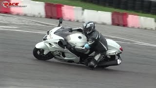 5. Suzuki Hayabusa (2011), on track + ONBOARD - Franciacorta