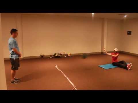 [Australian Golf Schools _ ANK GOLF] KLPGA Char Young Kim golf fitness session with Sean Horan