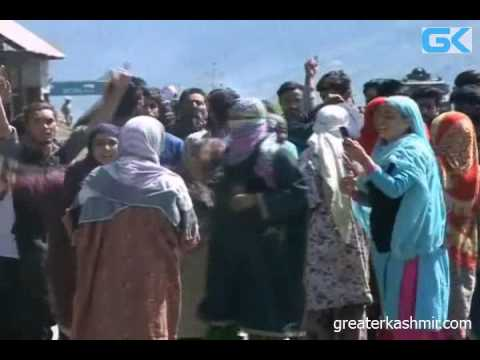 Pro-freedom Protests in Kupwara After Fidayeen Attack