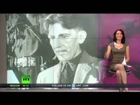 George Orwell - Abby Martin remarks on the 110th birthday of George Orwell, British visionary and author of '1984', highlighting the book's nightmarish prophecy of a dystopi...