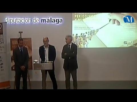 Presentación del VI Congreso Internacional de Periodismo de la Fundación Manuel Alcántara. Jueves 11 de octubre de 2018