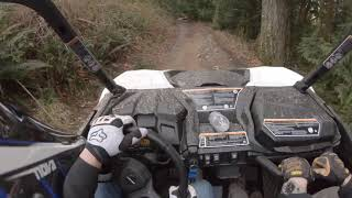 5. Riding Walker Valley trail in my Can Am Maverick Trail 1000c