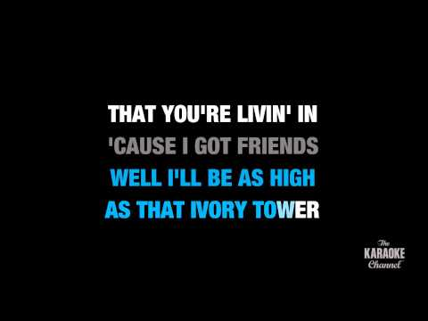 "Friends In Low Places (Studio Version) in the Style of ""Garth Brooks"" karaoke lyrics (no lead vocal)"