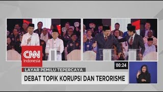 Video Momen Saat Prabowo Joget, Lalu Dipijat Sandiaga di Debat Capres 2019 MP3, 3GP, MP4, WEBM, AVI, FLV April 2019